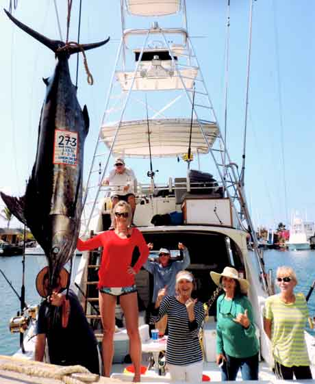 Blue Marlin, Kona Fishing charter on  Linda Sue IV