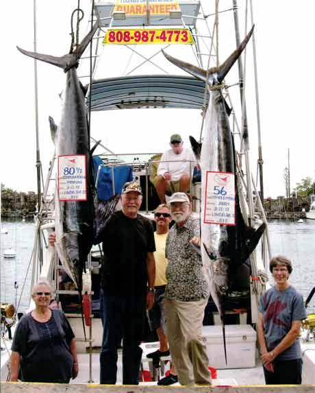 marlin, deep sea fishing, Kona Hawaii
