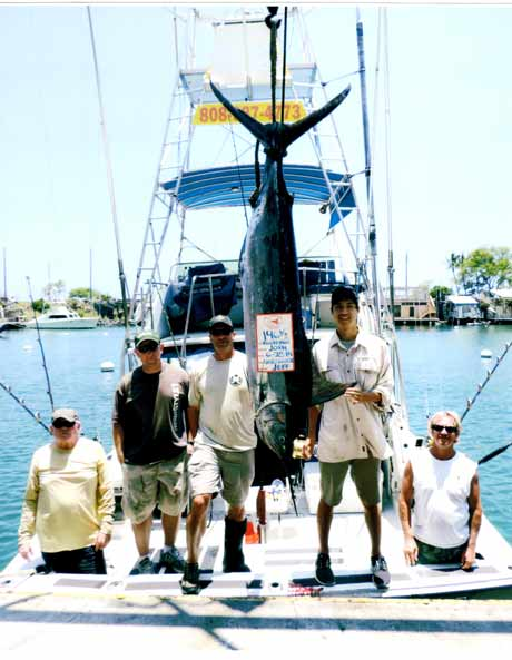 Linda Sue III charter Kona Blue Marlin fishing