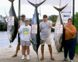 Hawaii charter fishing - Kona fishing charter
